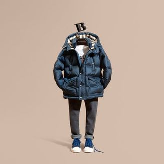 Burberry Lightweight Down-filled Coat $395 thestylecure.com