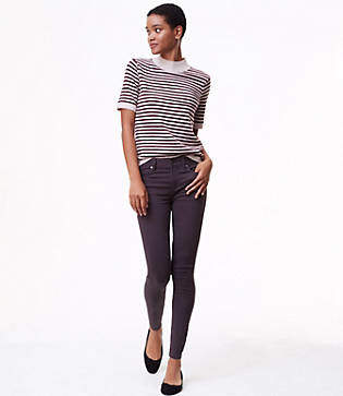 LOFT Tall Leggings in Sateen Five Pocket in Marisa Fit