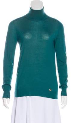 Gucci Cashmere Logo-Embellished Sweater Green Cashmere Logo-Embellished Sweater