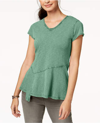Style&Co. Style & Co Petite Asymmetrical Top, Created for Macy's