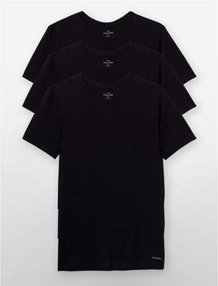 Calvin Klein slim fit 3-pack crewneck t-shirt