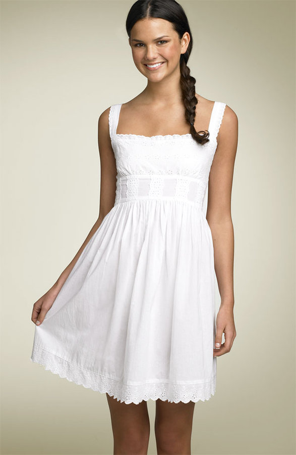 Fire Eyelet Dress (Juniors)