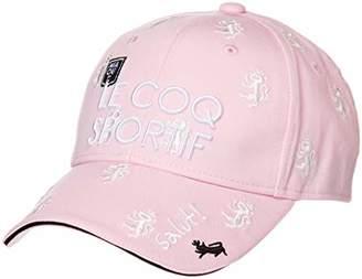 Le Coq Sportif (ル コック スポルティフ) - [ルコックスポルティフゴルフ]キャップ レディース ピンク 日本 F (FREE サイズ)
