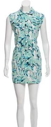 Kenzo Printed Denim Dress