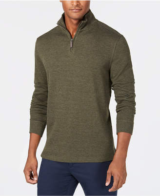 Club Room Men's Quarter-Zip Pullover Sweater