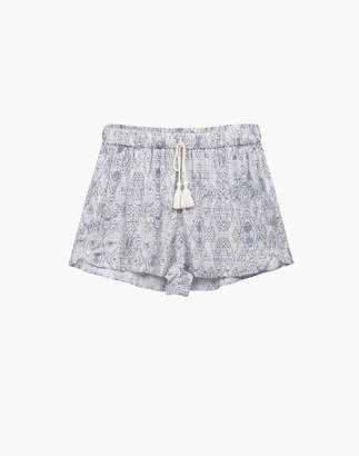 Madewell Negative Supreme Sleep Shorts Pajama Set