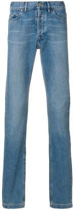 Lanvin faded side stripe jeans