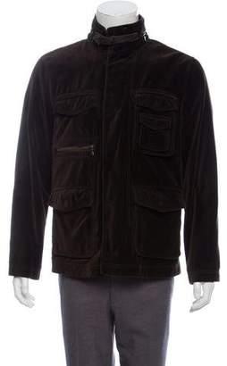 John Varvatos Velvet Utility Jacket