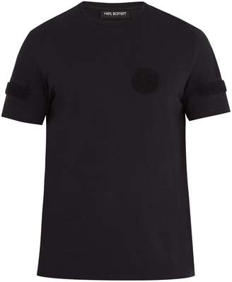 Neil Barrett Velcro®-badge cotton-jersey T-shirt
