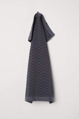 H&M Jacquard-patterned Hand Towel - Gray