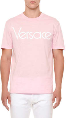 Versace Logo-Graphic Jersey T-Shirt