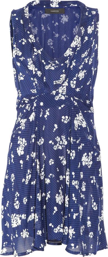 Thakoon Addition Printed silk-chiffon dress