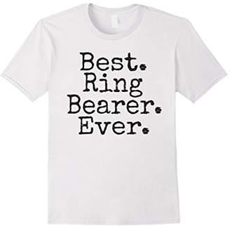 Best Ring Bearer Ever T-Shirt
