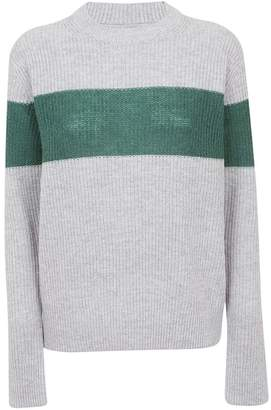Calvin Klein Color Block Fitted Sweater