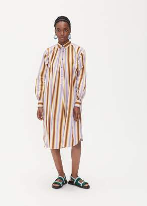 Marni Long Sleeve Shirt Dress