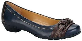 Softspots Comfortiva Leather Flats - Posie