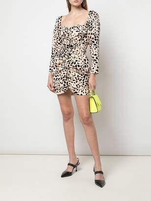 Markarian animal print mini dress