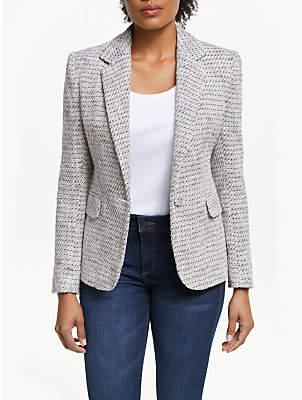 Helene For Denim Wardrobe Carinne Tweed Blazer