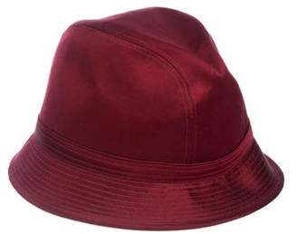 Philip Treacy Velvet Fedora Hat