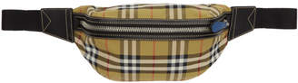 Burberry Beige Medium Vintage Check Sonny Bum Bag