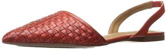 French Sole Women's Volume Pointed Toe Flat