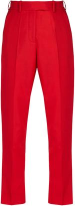 RACIL Stones high-rise slim-leg trousers