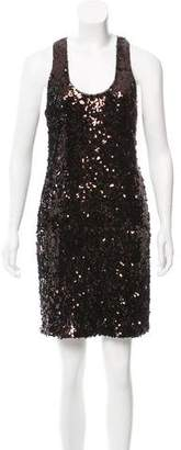 Vince Sleeveless Sequined Dress
