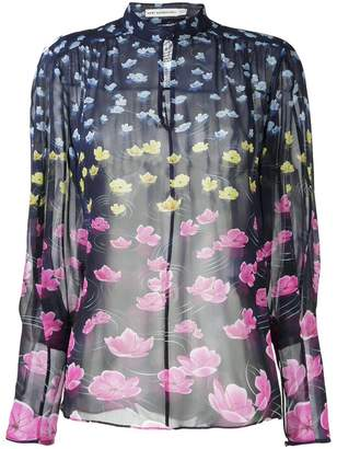 Mary Katrantzou Rainbow lily print blouse