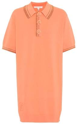 Marc Jacobs Stretch jersey polo dress