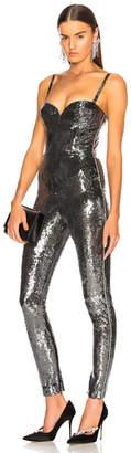 Dundas Sequin Bustier Skinny Jumpsuit