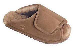 Lamo Men's Sheepskin Wrap Slippers
