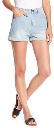 O'Neill Ernestine High-Waist Denim Shorts