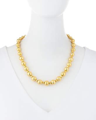 Jose & Maria Barrera Hammered Bead Necklace