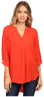 Christin Michaels Ginger Top $64 thestylecure.com