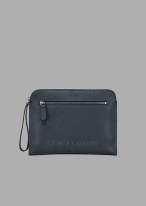 a7bdae1018 Giorgio Armani Blue Men's Wallets - ShopStyle