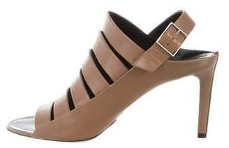 Balenciaga Leather Grim Sandals w/ Tags