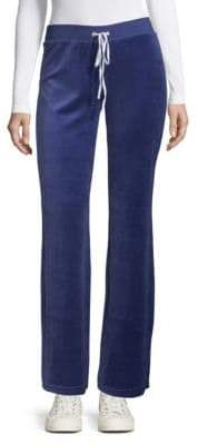 Juicy Couture Flared Drawstring Pants