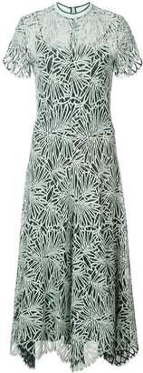 Proenza Schouler Lace Short Sleeve Dress