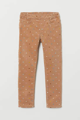 H&M Corduroy treggings