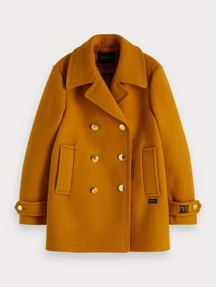 Scotch & Soda Classic Pea coat