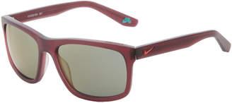 Nike EV1022 Night Maroon Rectangle Sunglasses