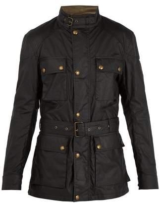 Belstaff Roadmaster patch-pocket waxed-cotton jacket