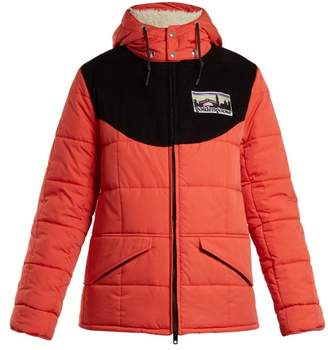 Golden Goose Agena Quilted Jacket - Womens - Red