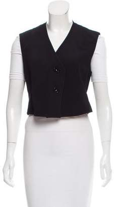 Derek Lam Sleeveless Cropped Vest