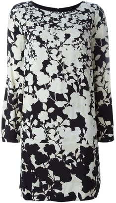 Twin-Set floral print long-sleeve dress $241.63 thestylecure.com