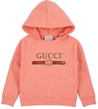 Gucci Kids' Logo-Print Cotton Hoodie