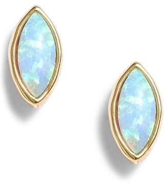 Gorjana Rumi Opalite Stud Earrings