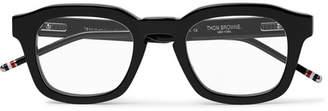 Thom Browne Square-Frame Acetate Optical Glasses