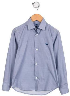 Harmont & Blaine Junior Boys' Printed Button-Up Shirt