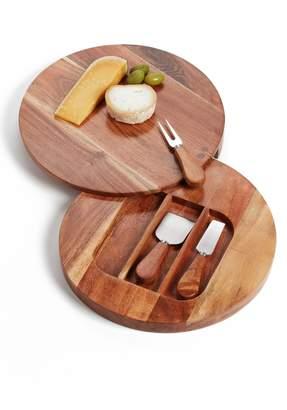 Nordstrom Acacia Wood Cheese Board & Cheese Knives